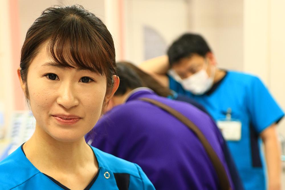 写真:看護師の顔写真